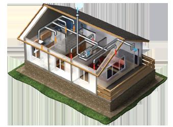Проектирование и монтаж вентиляции коттеджа