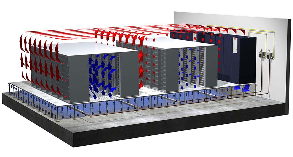 Проектирование и монтаж вентиляции в серверной