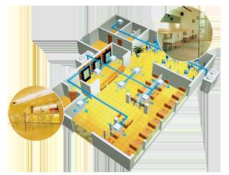 Проектирование и монтаж вентиляции в ресторане
