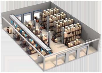 Проектирование вентиляции складских помещений
